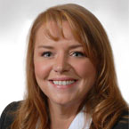 head shot of Leanne Kleinschmidt, online loan officer at Timberland Bank