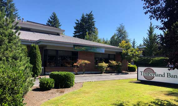 Timberland bank location in West Olympia